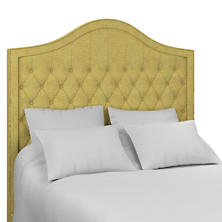Canvasuede Citrus Essex Headboard