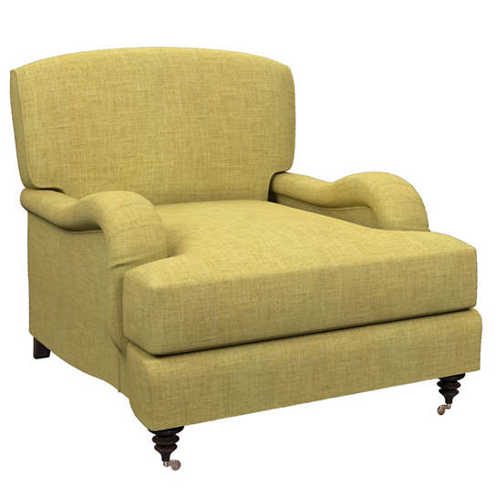 Canvasuede Citrus Litchfield Chair