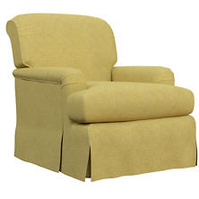 Canvasuede Citrus Longford Chair