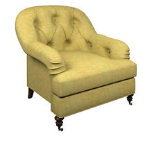 Canvasuede Citrus Norfolk Chair