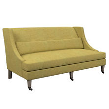 Canvasuede Citrus Parker Bench