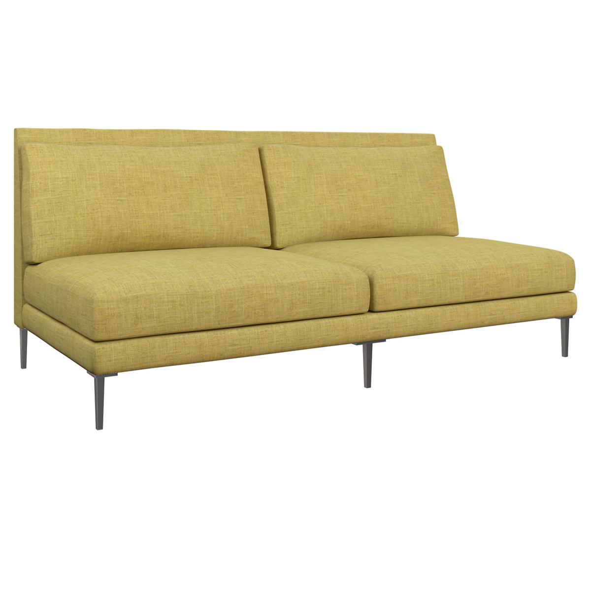 Canvasuede Citrus Portola Sofa