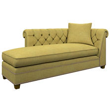 Canvasuede Citrus Richmond Left Facing Chaise