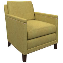 Canvasuede Citrus Ridgefield Chair