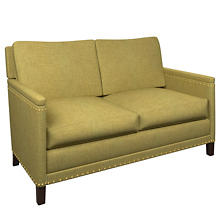 Canvasuede Citrus Ridgefield Loveseat
