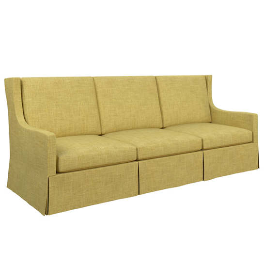 Canvasuede Citrus Toulouse Sofa