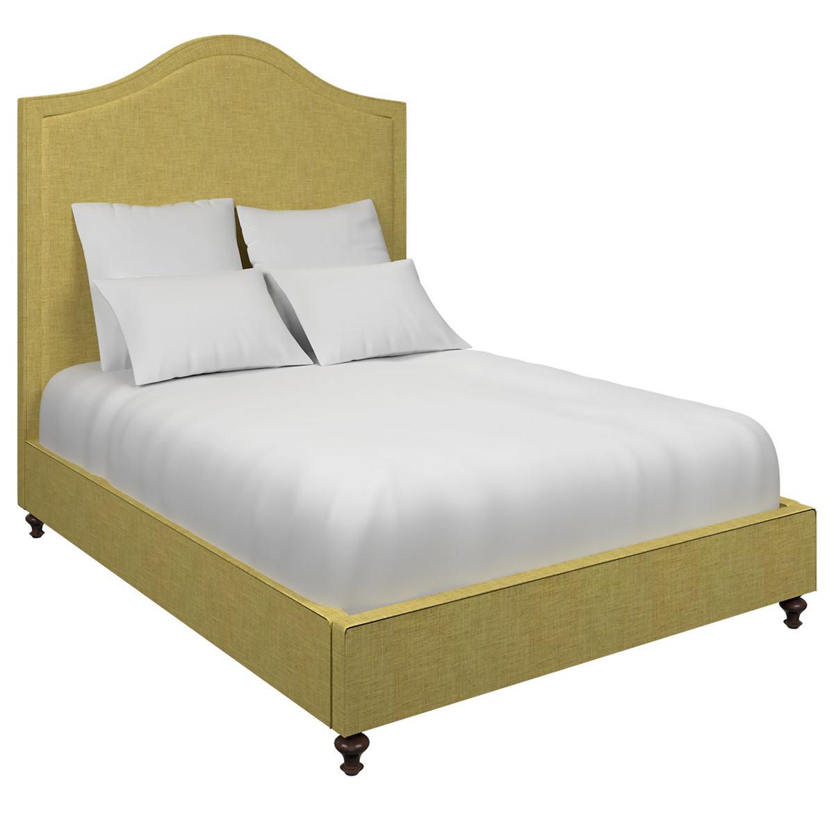 Canvasuede Citrus Westport Bed
