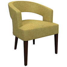 Canvasuede Citrus Wright Chair