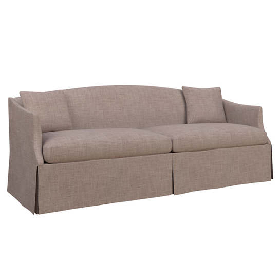 Canvasuede Heather Avignon Sofa