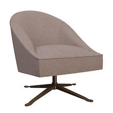 Canvasuede Heather Embrace Chair