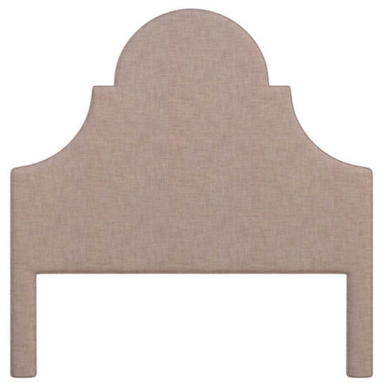 Canvasuede Heather Montaigne Headboard