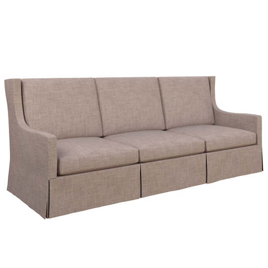 Canvasuede Heather Toulouse Sofa