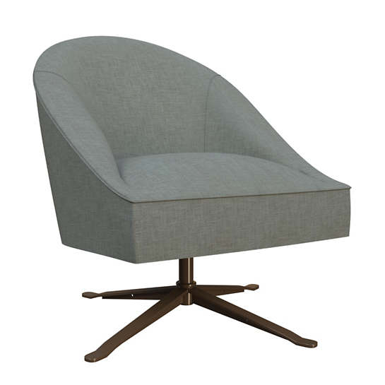 Canvasuede Ocean Embrace Chair