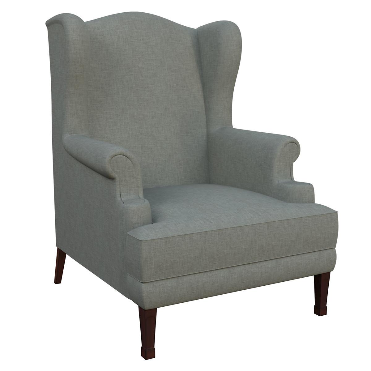 Canvasuede Ocean Lismore Chair