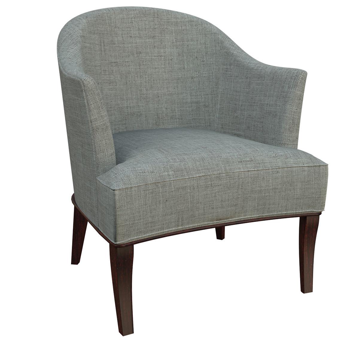 Canvasuede Ocean Lyon Chair