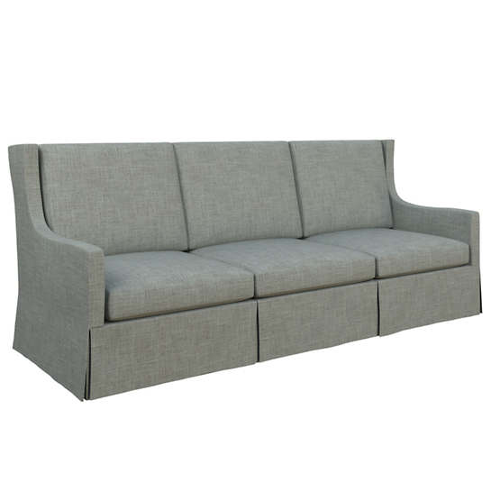 Canvasuede Ocean Toulouse Sofa