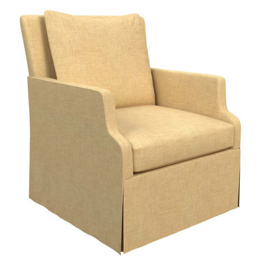 Canvasuede Wheat Aix Chair