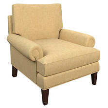 Canvasuede Wheat Easton Chair
