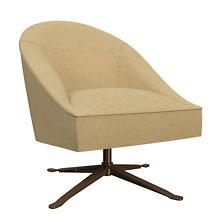 Canvasuede Wheat Embrace Chair