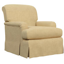 Canvasuede Wheat Longford Chair
