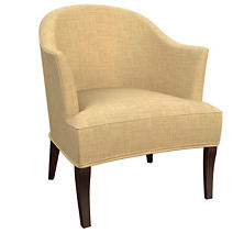 Canvasuede Wheat Lyon Chair