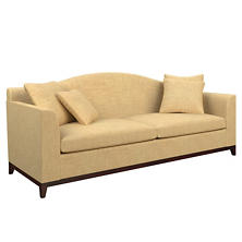 Canvasuede Wheat Marseille Sofa