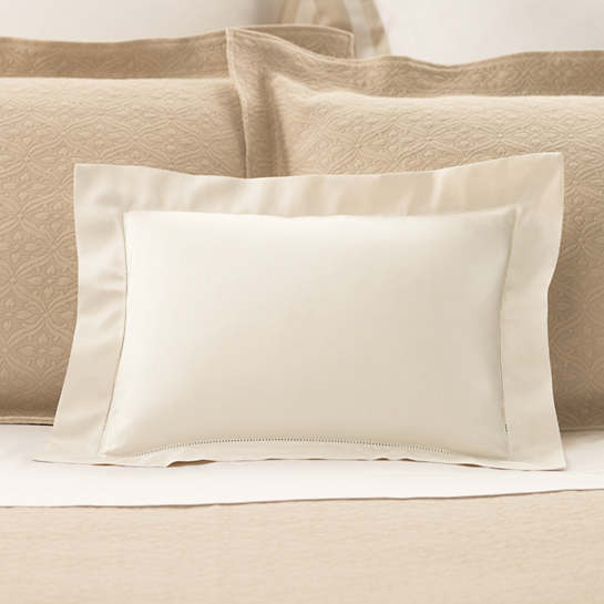 Carina Ivory Decorative Pillow
