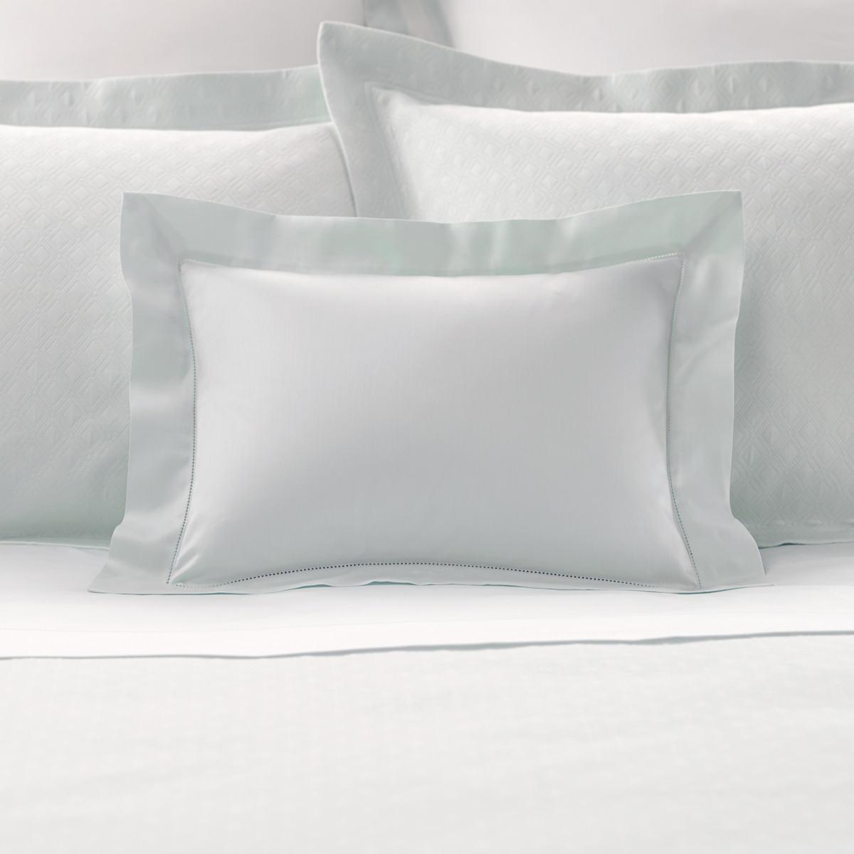 Carina Pearl Blue Decorative Pillow