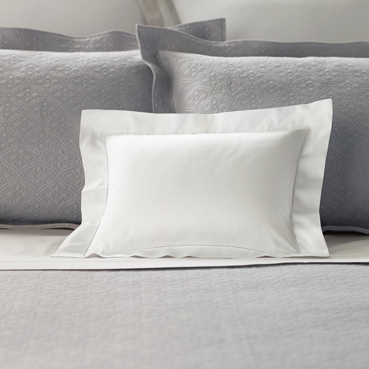 Carina White Decorative Pillow