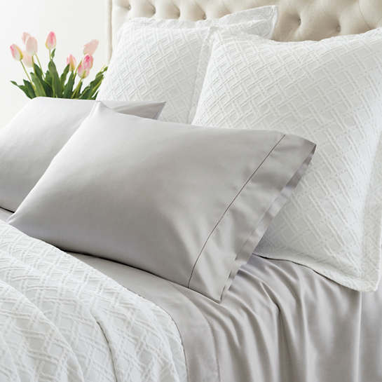 Carina Zinc Fitted Sheet