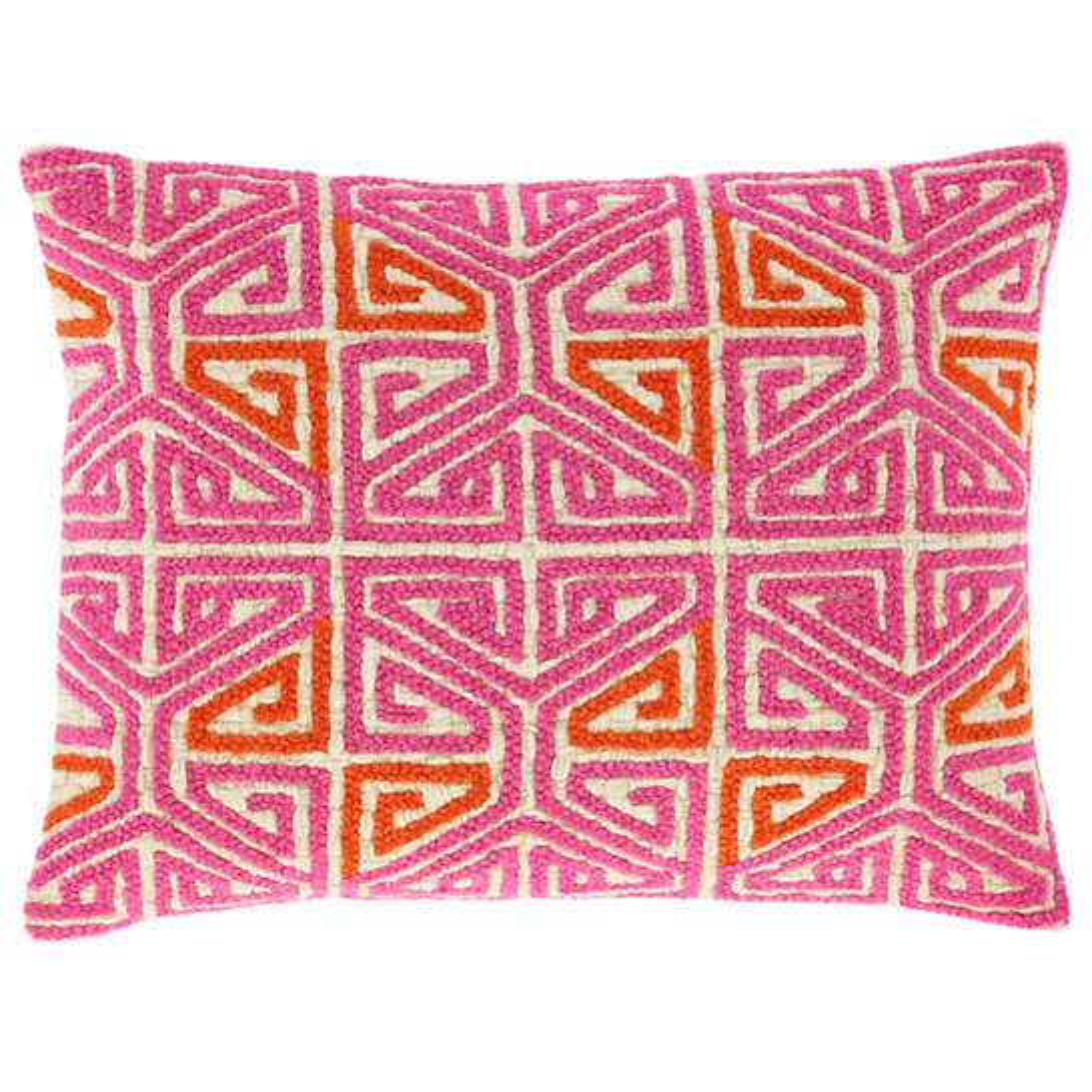 Carmen Embroidered  Decorative Pillow