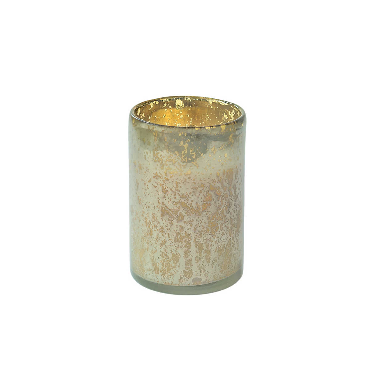 Cashmere Sky Mercury Glass Candle Furniture