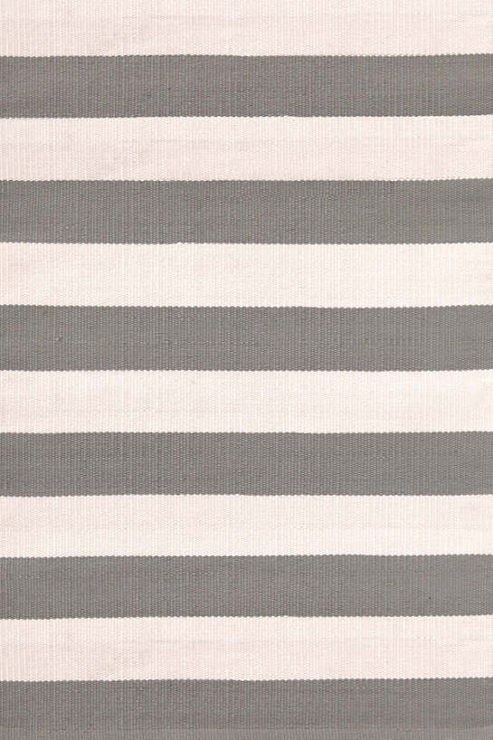 Catamaran Stripe Fieldstone/Ivory Indoor/Outdoor Rug