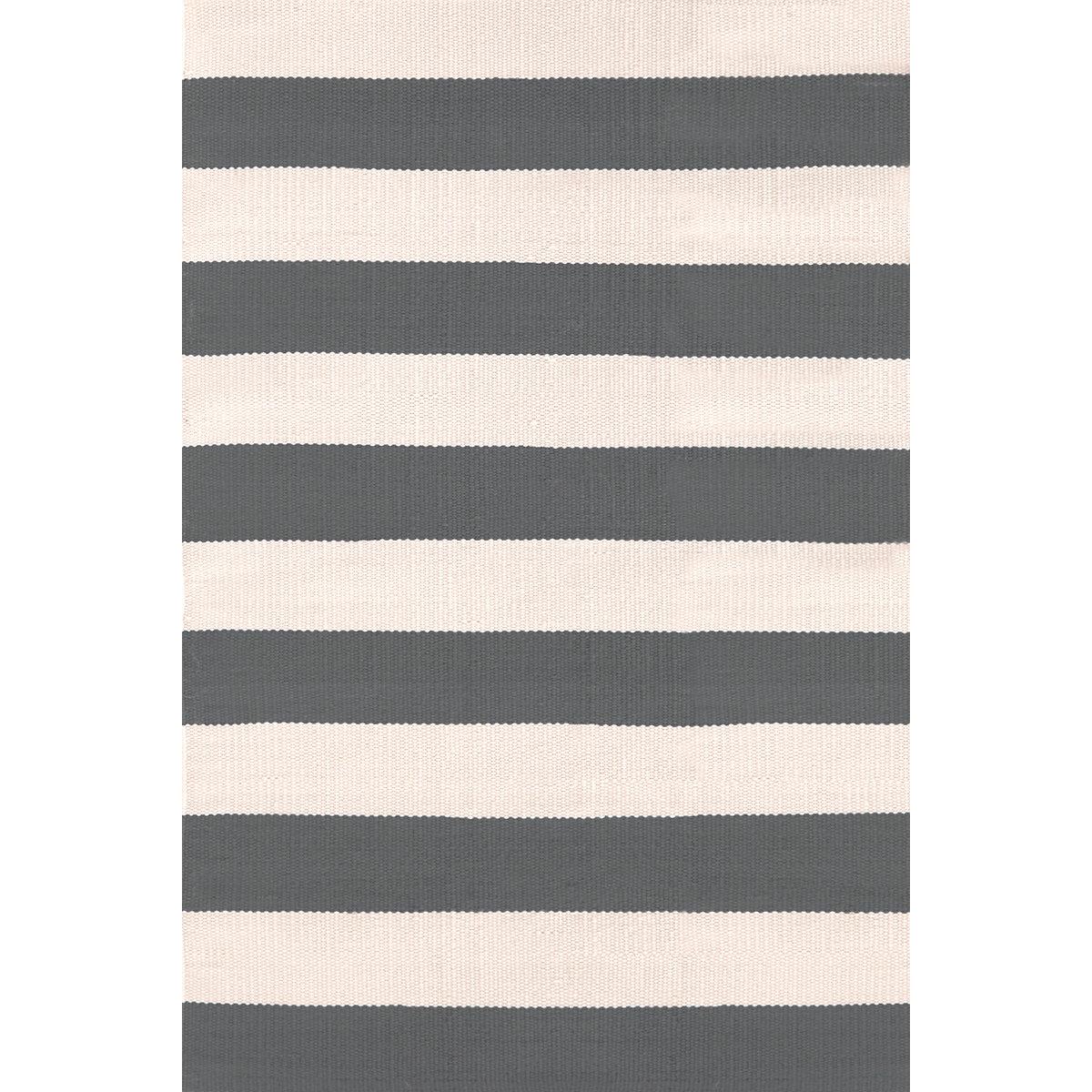 catamaran stripe graphite ivory indoor outdoor rug dash. Black Bedroom Furniture Sets. Home Design Ideas