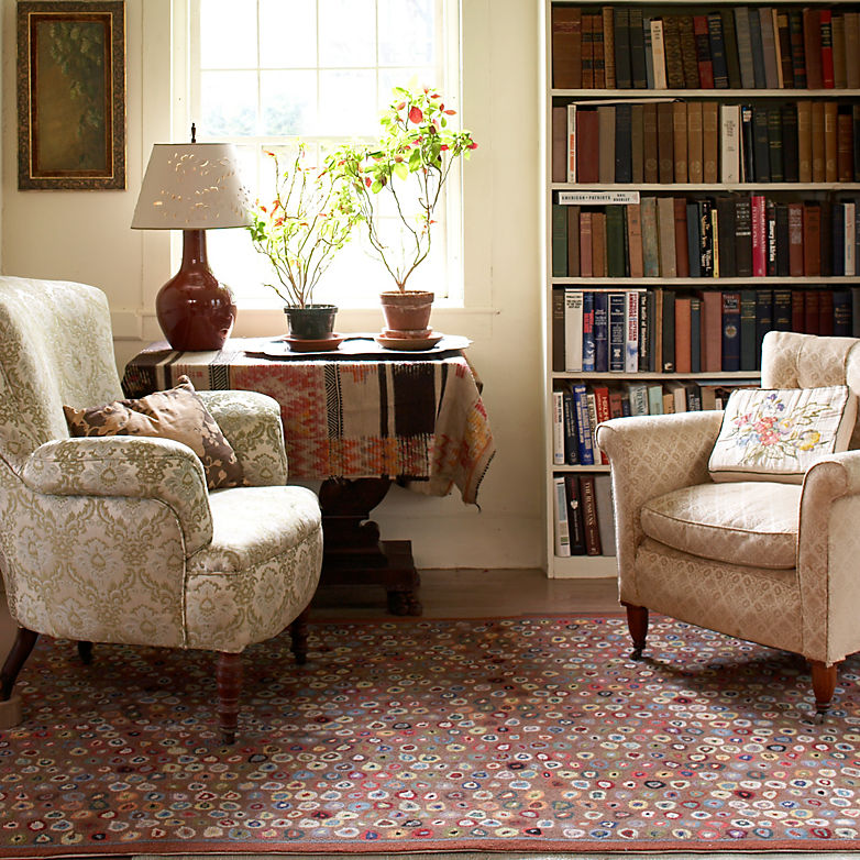Our Living Room Over The Years: Rugs Through The Years: Cat's Paw