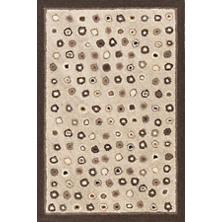 Cat's Paw Natural Wool Micro Hooked Rug