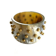Celia Natural Studded Bangle