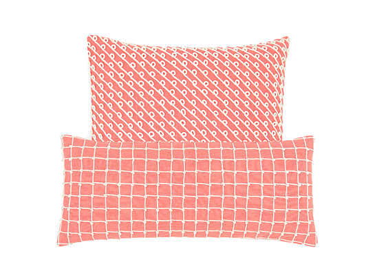 Chadna Coral Decorative Pillow