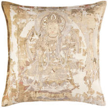 Chakra Linen Decorative Pillow