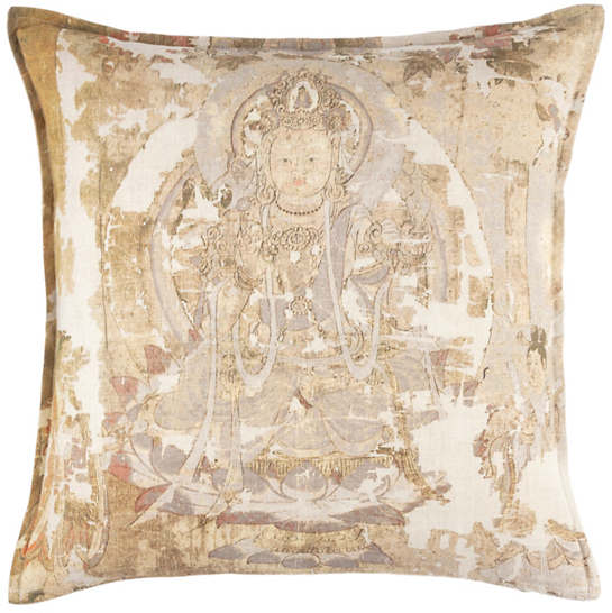 Chakra Linen Decorative Pillow