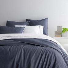 Chambray Blue Duvet Cover