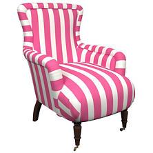 Alex Fuchsia Charleston Chair