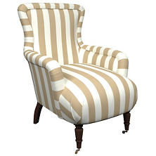 Alex Linen Charleston Chair