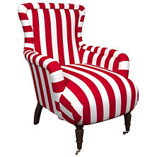 Alex Red Charleston Chair