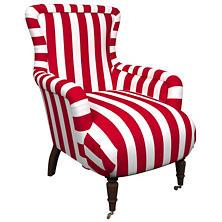 Alex Red Charleston Chair