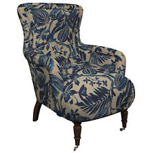 Antigua Linen Charleston Chair