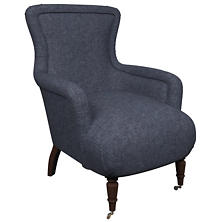 Greylock Navy Charleston Chair