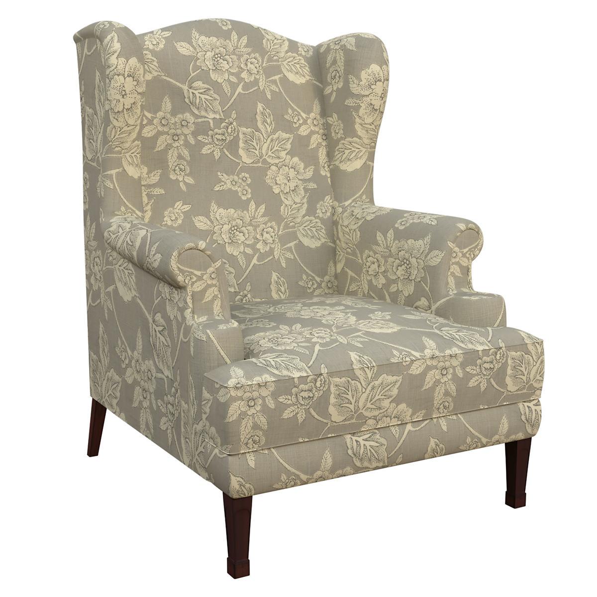Charlotte Linen Lismore Chair