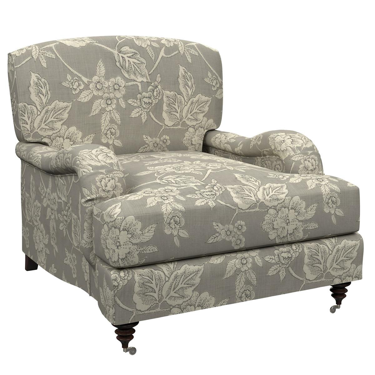 Charlotte Linen Litchfield Chair