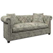 Charlotte Linen Richmond Sofa
